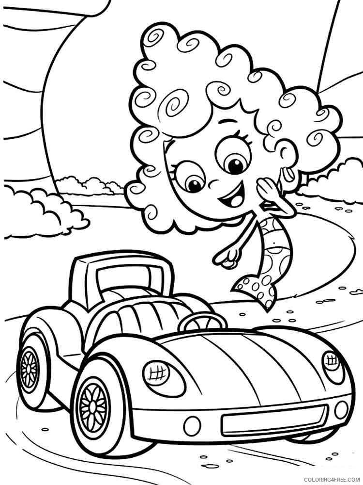 Bubble Guppies Coloring Pages TV Film bubble guppies 15 Printable 2020 01592 Coloring4free