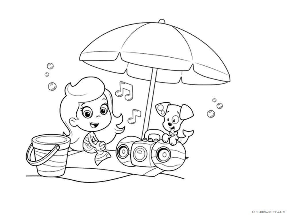 Bubble Guppies Coloring Pages TV Film bubble guppies 16 Printable 2020 01593 Coloring4free