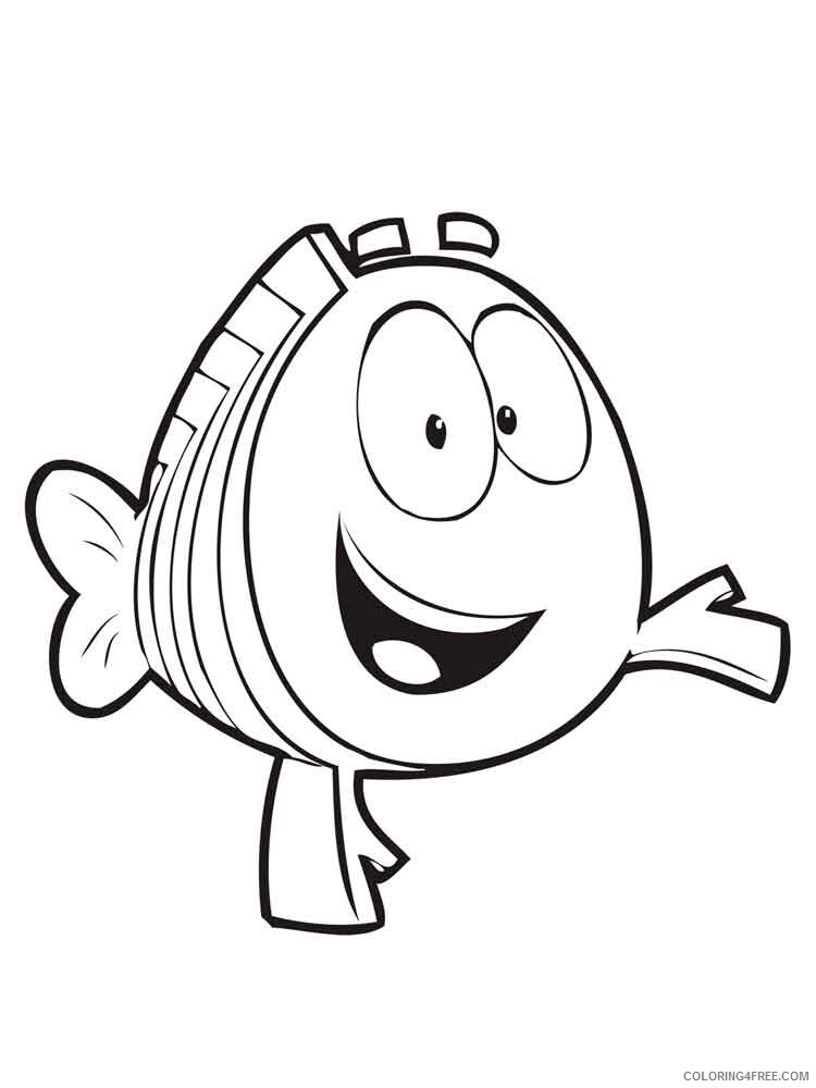 Bubble Guppies Coloring Pages TV Film bubble guppies 24 Printable 2020 01602 Coloring4free
