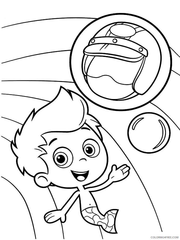 Bubble Guppies Coloring Pages TV Film bubble guppies 26 Printable 2020 01604 Coloring4free