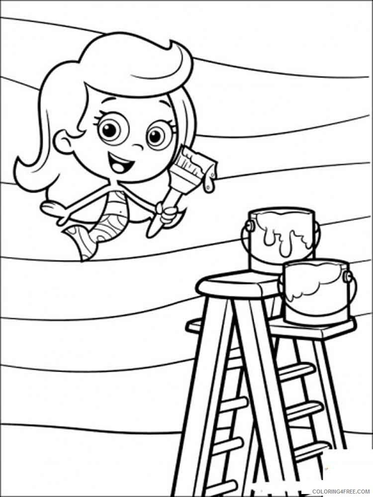 Bubble Guppies Coloring Pages TV Film bubble guppies 3 Printable 2020 01606 Coloring4free