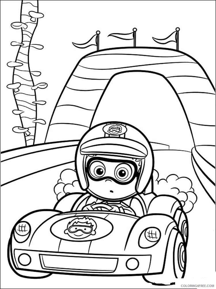 Bubble Guppies Coloring Pages TV Film bubble guppies 7 Printable 2020 01610 Coloring4free
