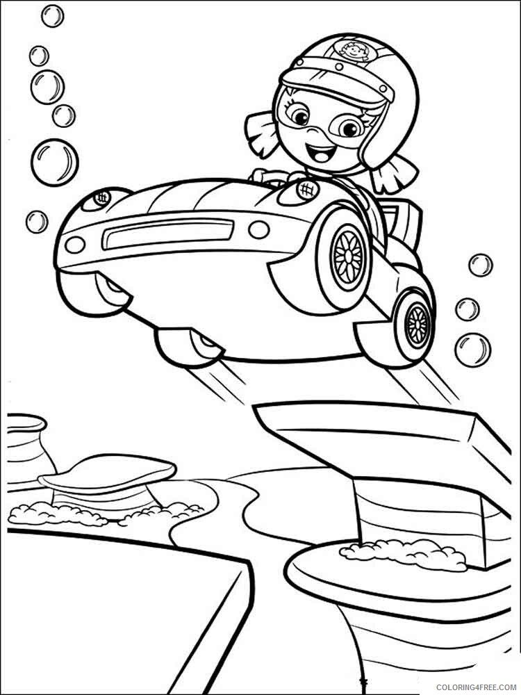 Bubble Guppies Coloring Pages TV Film bubble guppies 8 Printable 2020 01611 Coloring4free