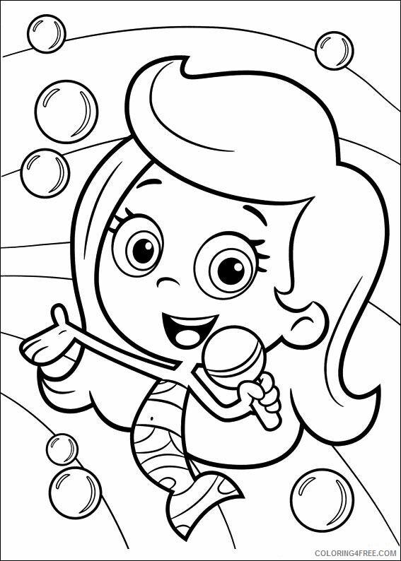 Bubble Guppies Coloring Pages TV Film bubble guppies YBhxJ Printable 2020 01577 Coloring4free
