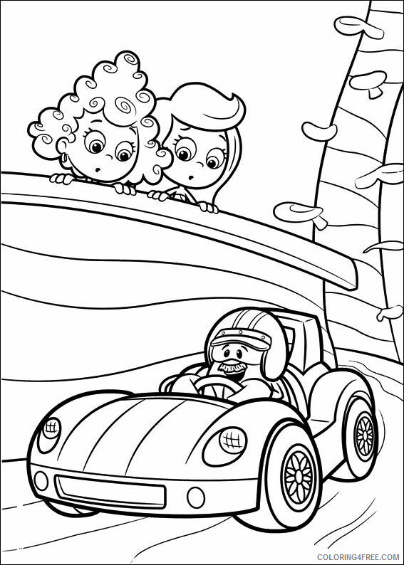 Bubble Guppies Coloring Pages TV Film bubble guppies YgOXE Printable 2020 01578 Coloring4free