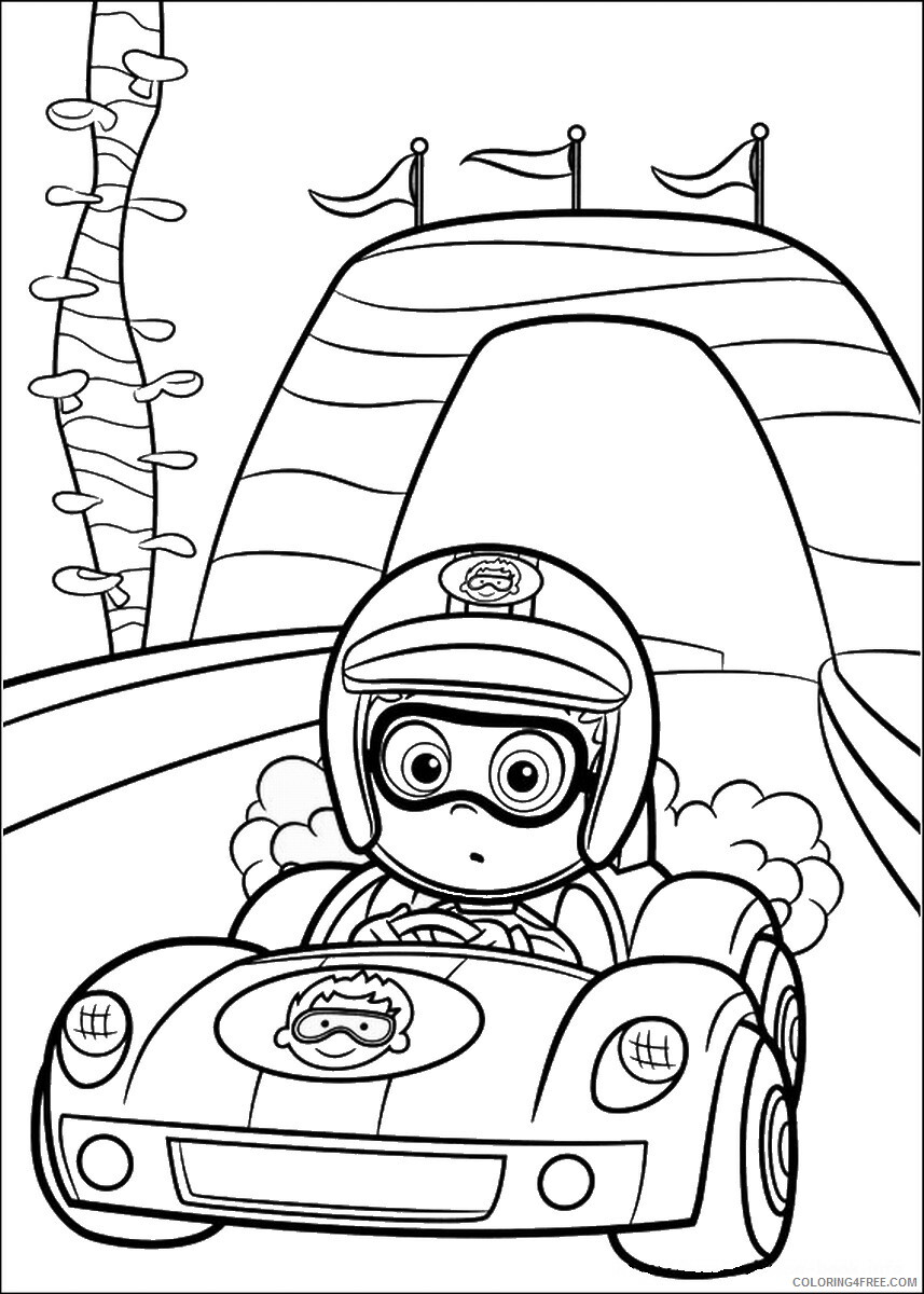 Bubble Guppies Coloring Pages TV Film bubble_guppies_cl03 Printable 2020 01534 Coloring4free