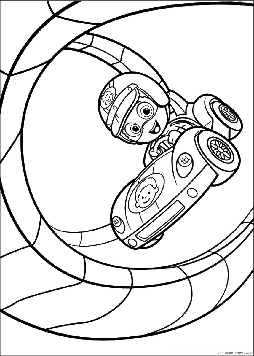 Bubble Guppies Coloring Pages TV Film bubble_guppies_cl05 Printable 2020 01536 Coloring4free