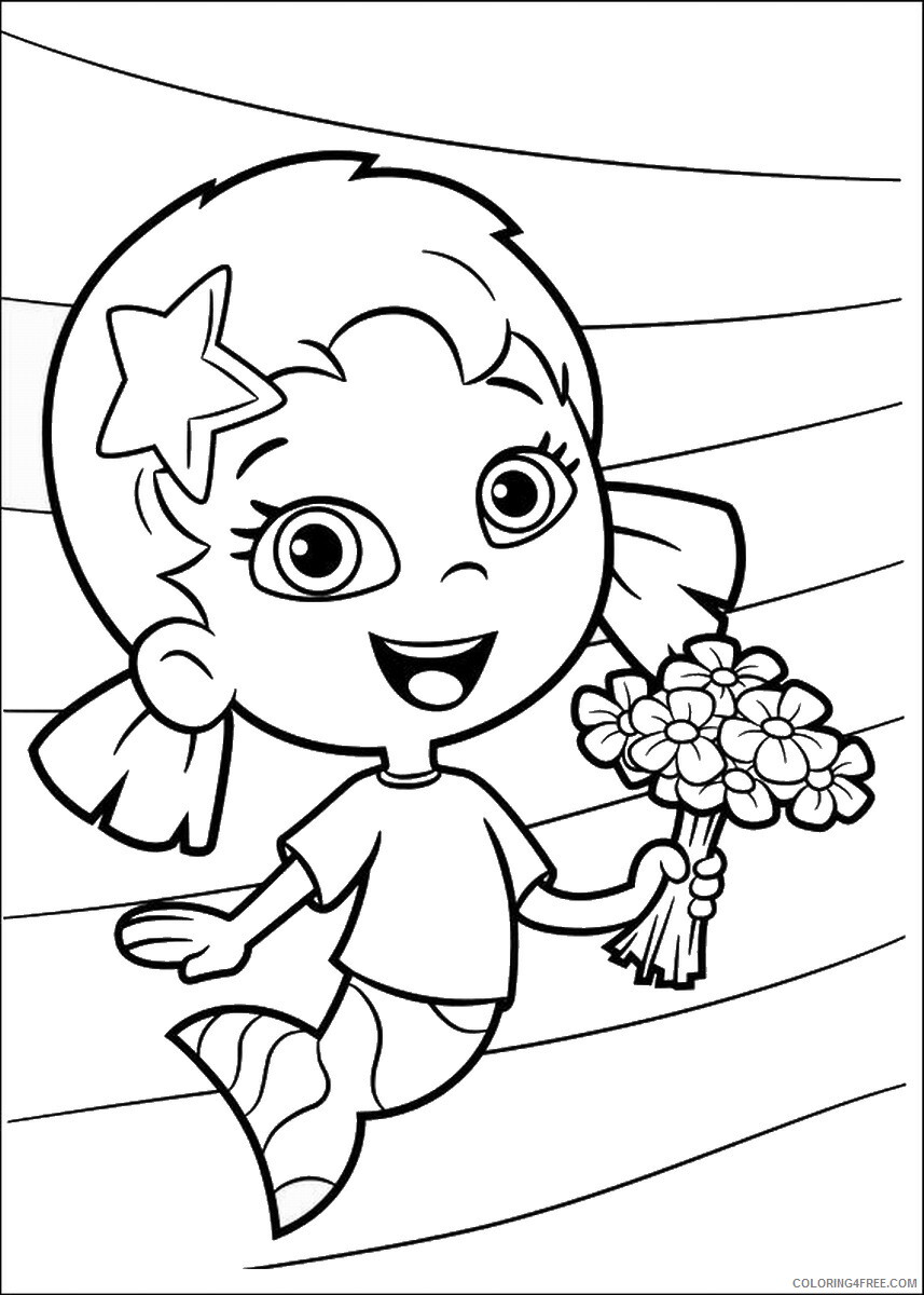 Bubble Guppies Coloring Pages TV Film bubble_guppies_cl16 Printable 2020 01547 Coloring4free
