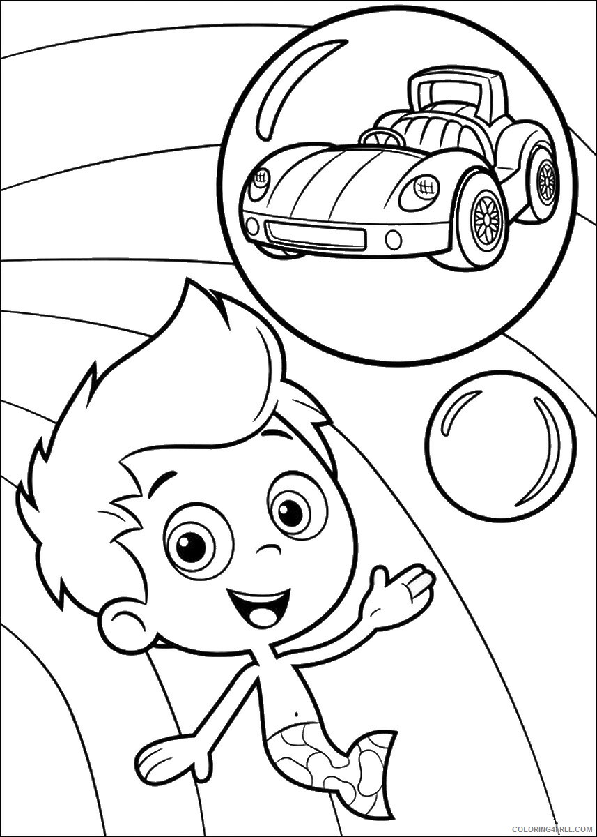 Bubble Guppies Coloring Pages TV Film bubble_guppies_cl29 Printable 2020 01560 Coloring4free