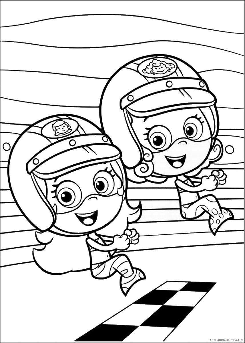 Bubble Guppies Coloring Pages TV Film bubble_guppies_cl31 Printable 2020 01562 Coloring4free