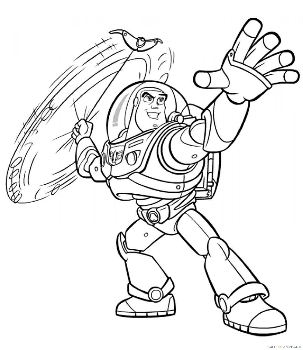 Buzz Lightyear Coloring Pages TV Film Buzz Lightyear Printable 2020 01751 Coloring4free