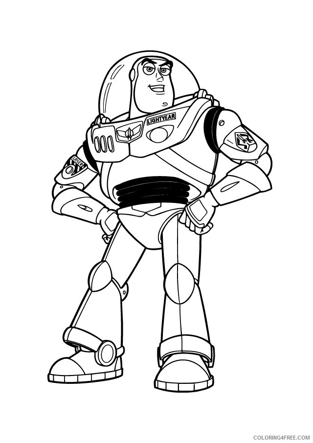 Buzz Lightyear Coloring Pages TV Film Buzz Lightyear to Print Printable 2020 01749 Coloring4free