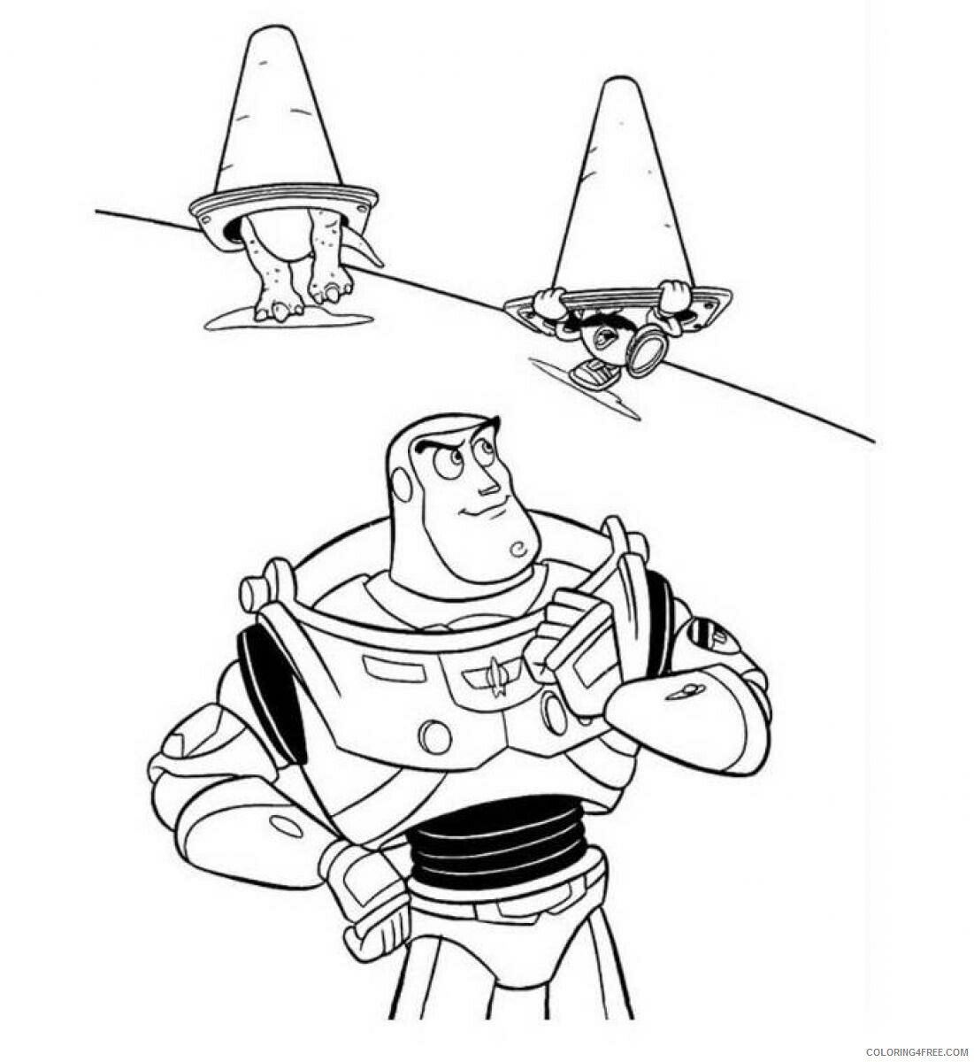 Buzz Lightyear Coloring Pages TV Film Free Buzz Lightyear Printable 2020 01752 Coloring4free