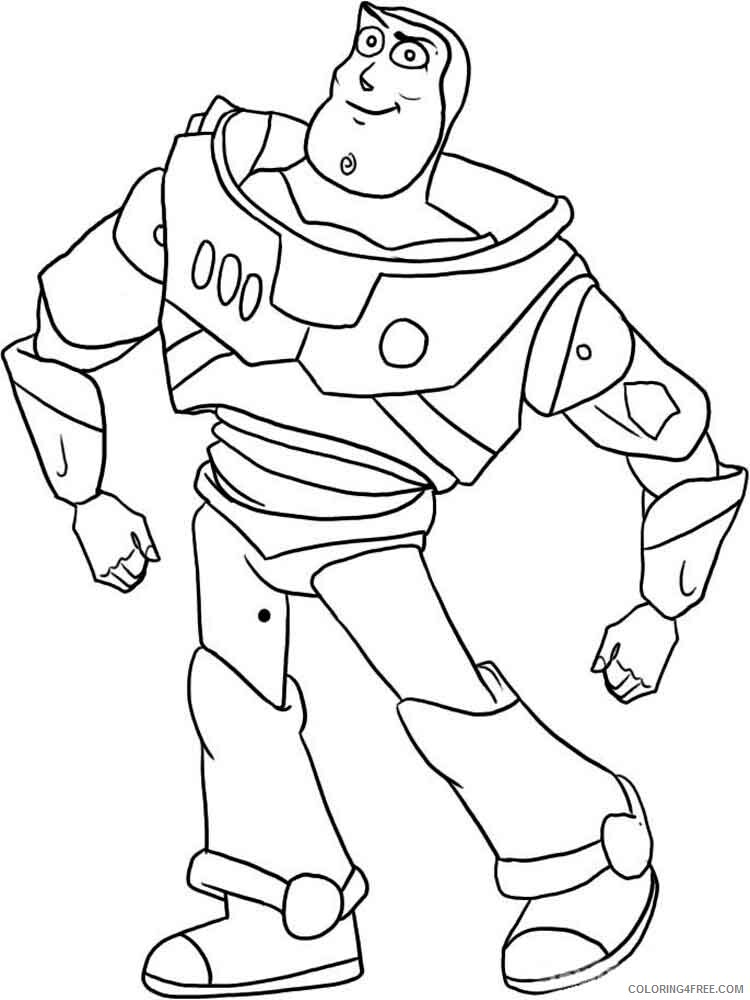 Buzz Lightyear Coloring Pages TV Film buzz and zurg 1 Printable 2020 01733 Coloring4free