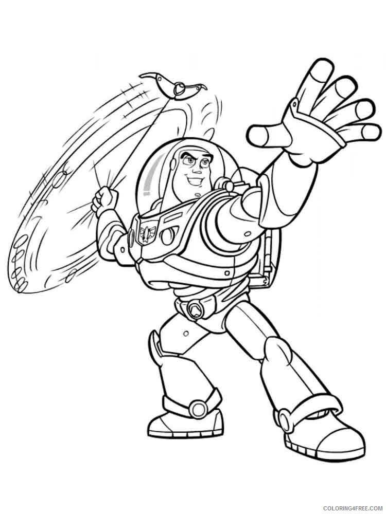 Buzz Lightyear Coloring Pages TV Film buzz and zurg 2 Printable 2020 01734 Coloring4free