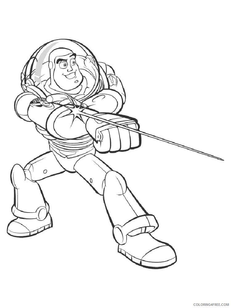 Buzz Lightyear Coloring Pages TV Film buzz and zurg 3 Printable 2020 01735 Coloring4free