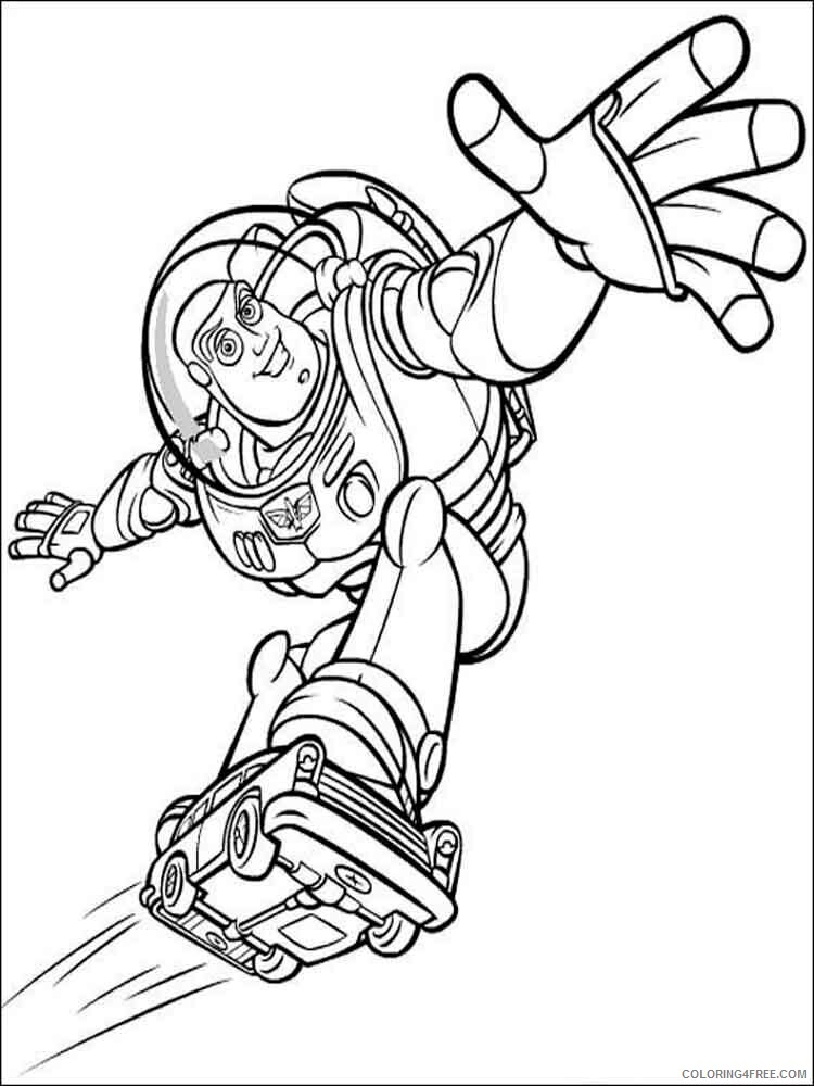 Buzz Lightyear Coloring Pages TV Film buzz and zurg 4 Printable 2020 01736 Coloring4free