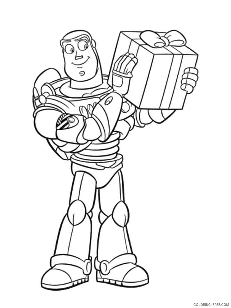 Buzz Lightyear Coloring Pages TV Film buzz and zurg 7 Printable 2020 01737 Coloring4free