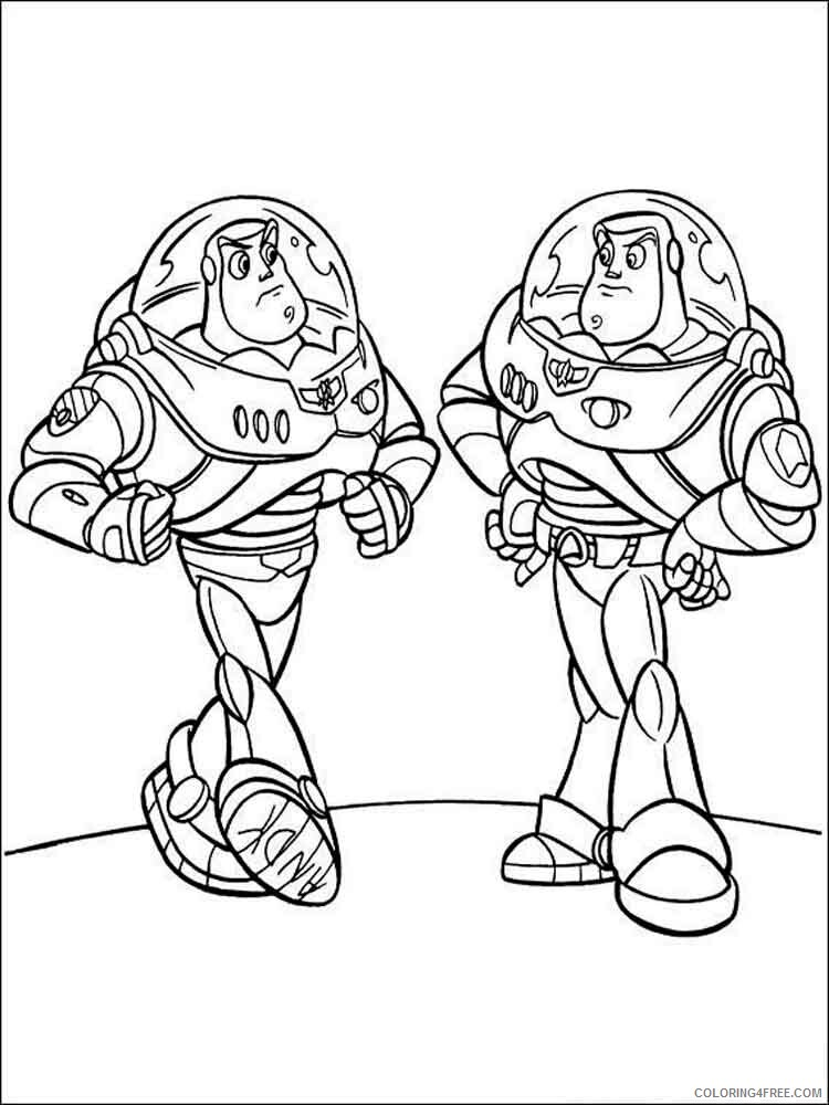 Buzz Lightyear Coloring Pages TV Film buzz lightyear 11 Printable 2020 01740 Coloring4free