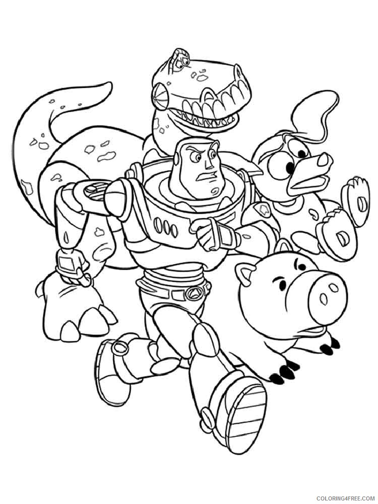 Buzz Lightyear Coloring Pages TV Film buzz lightyear 2 Printable 2020 01742 Coloring4free