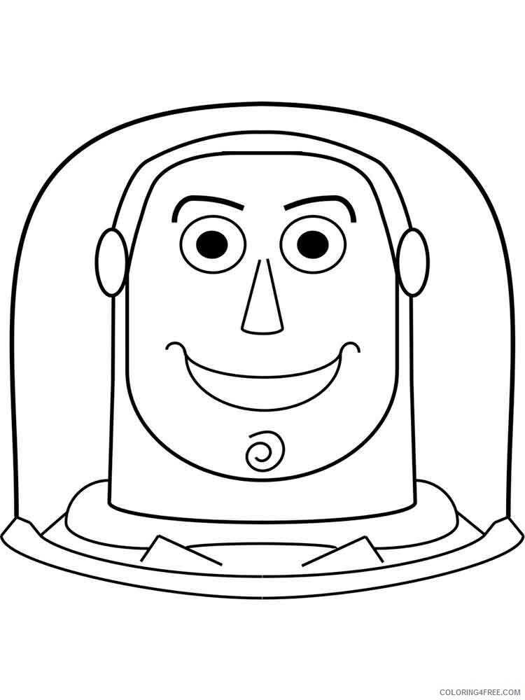 Buzz Lightyear Coloring Pages TV Film buzz lightyear 6 Printable 2020 01745 Coloring4free
