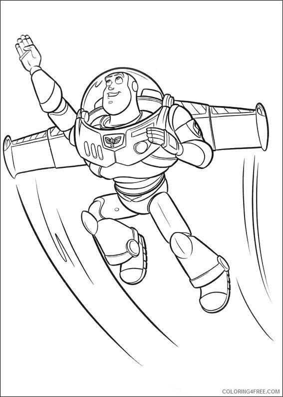 Buzz Lightyear Coloring Pages TV Film buzzcoloringpage Printable 2020 01730 Coloring4free