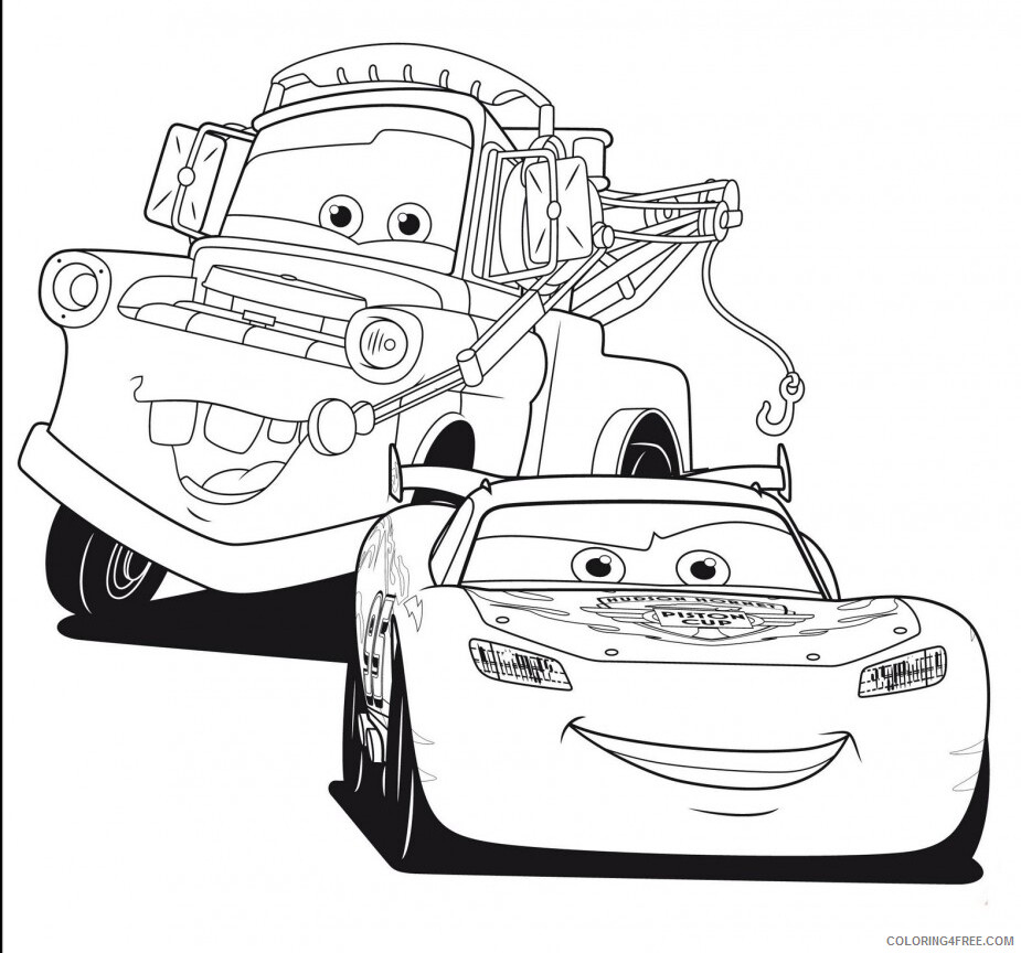 Cars Coloring Pages TV Film Cars Printable 2020 01888 Coloring4free