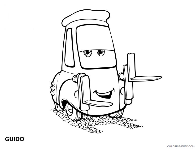 Cars Coloring Pages TV Film Printable Cars Free Printable 2020 01982 Coloring4free