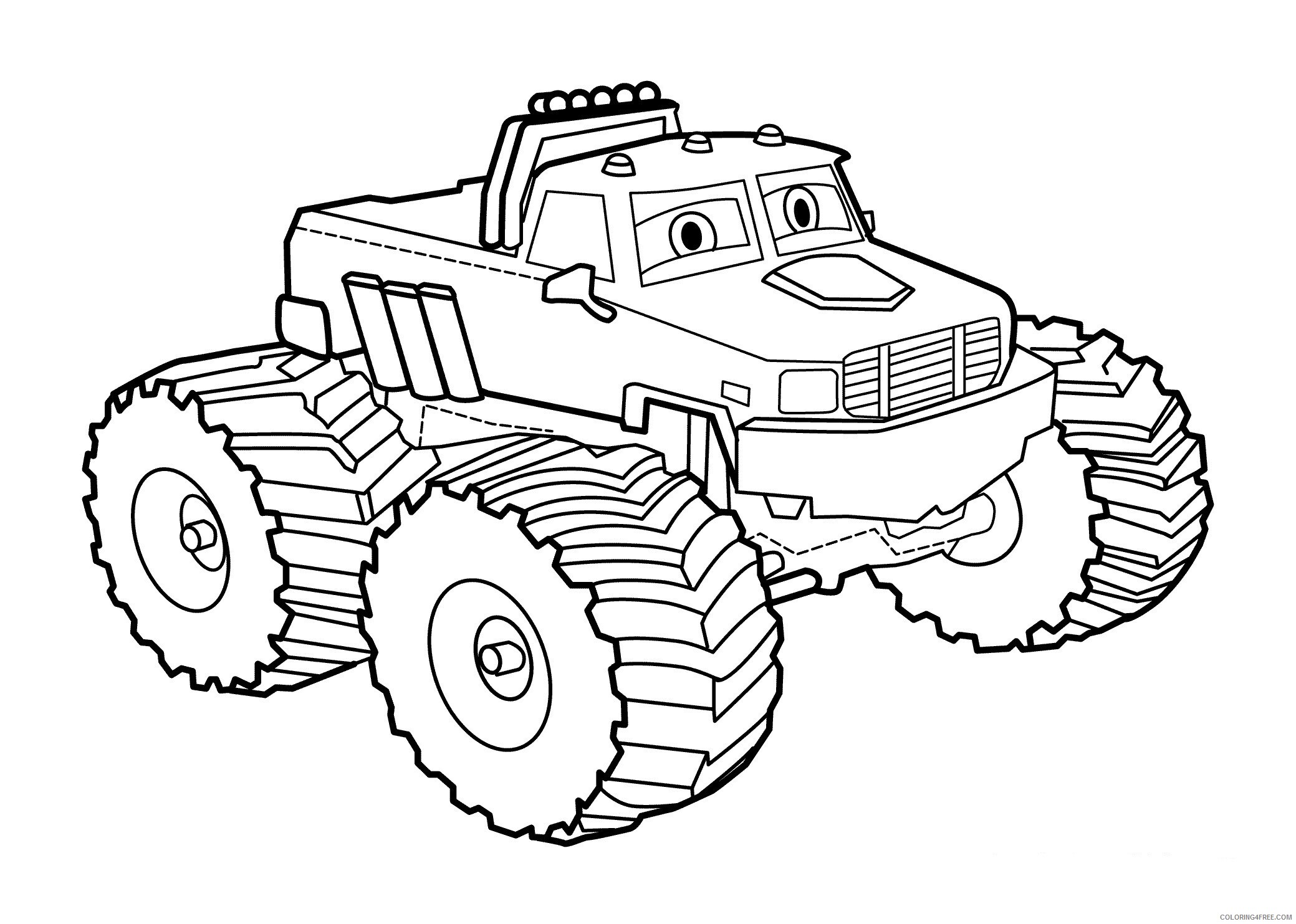 Cars Coloring Pages TV Film _cars drawings new tow mater art 2020 01793 Coloring4free