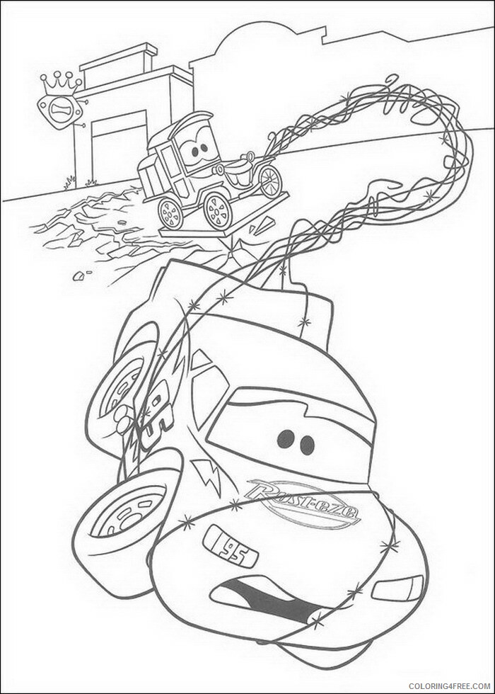 Cars Coloring Pages TV Film cars 11 Printable 2020 01892 Coloring4free
