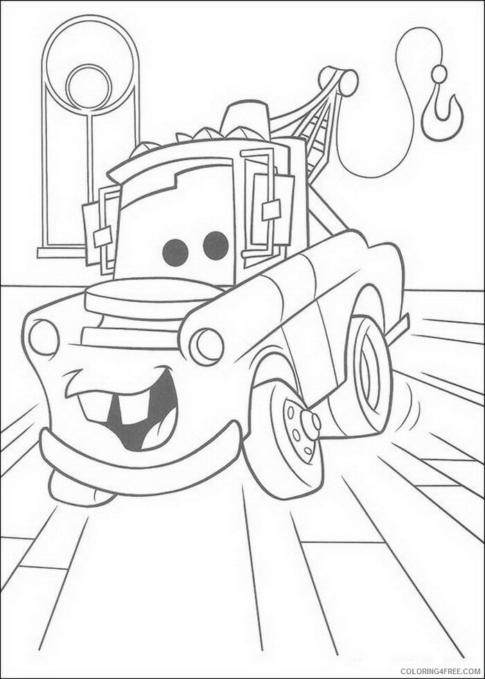 Cars Coloring Pages TV Film cars 14 Printable 2020 01895 Coloring4free