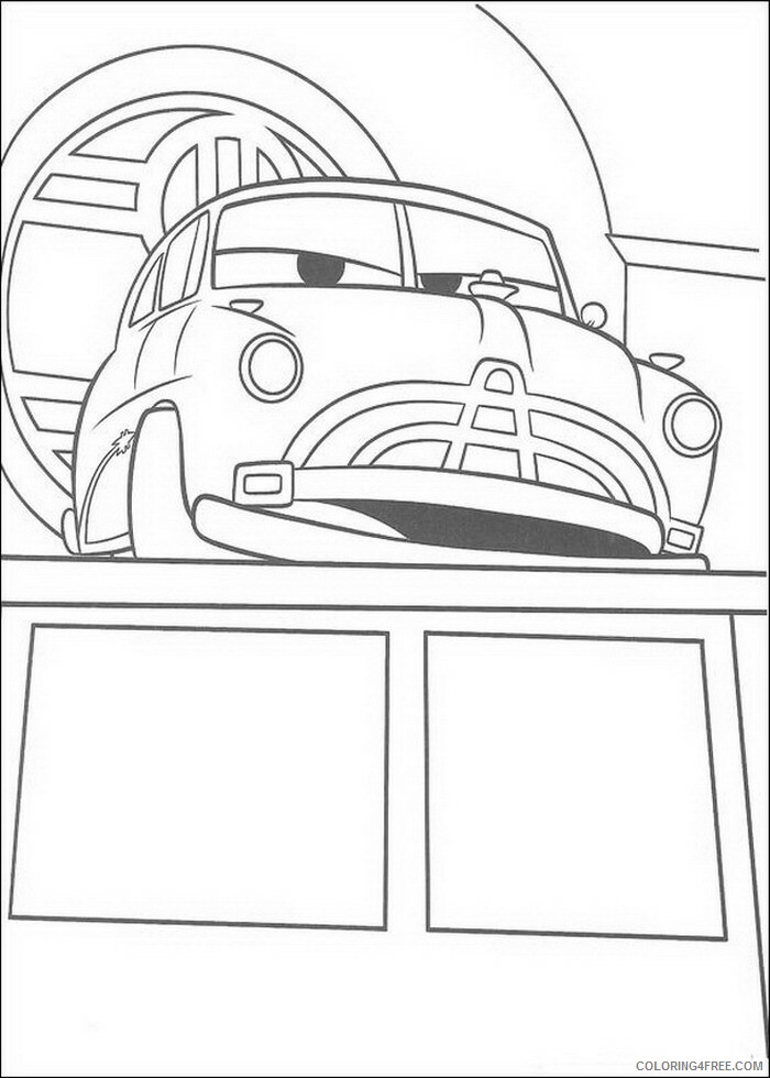 Cars Coloring Pages TV Film cars 17 Printable 2020 01898 Coloring4free