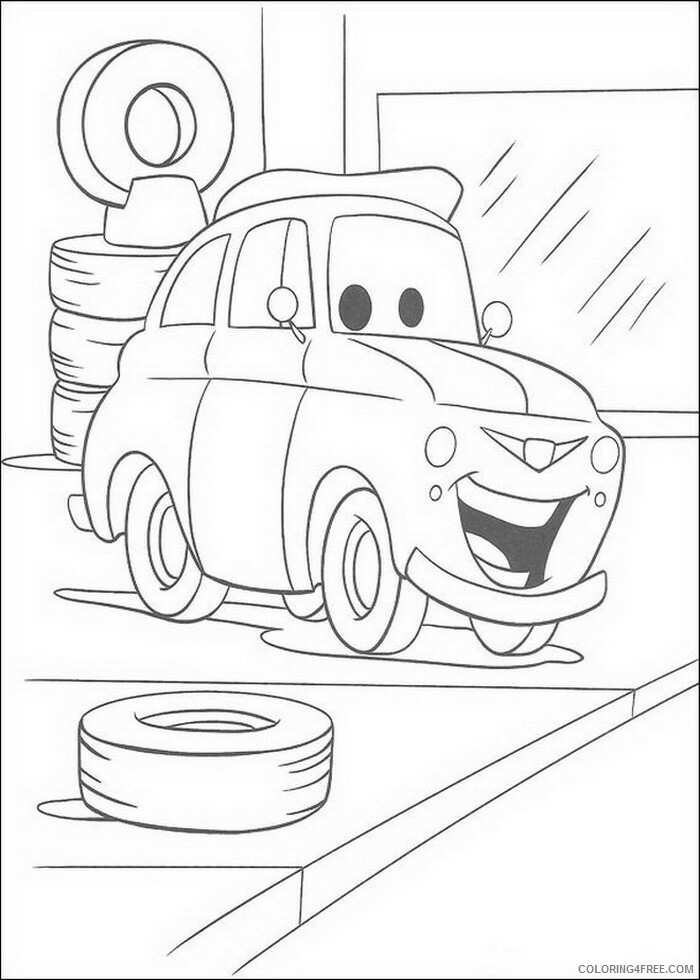 Cars Coloring Pages TV Film cars 37 Printable 2020 01917 Coloring4free