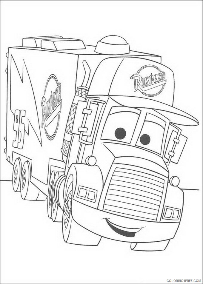 Cars Coloring Pages TV Film cars 5 Printable 2020 01810 Coloring4free