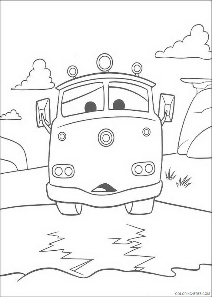 Cars Coloring Pages TV Film cars 7YJVC Printable 2020 01854 Coloring4free