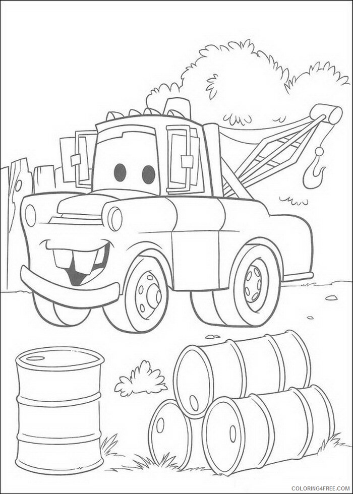 Cars Coloring Pages TV Film cars Dcin7 Printable 2020 01861 Coloring4free