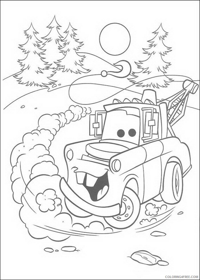 Cars Coloring Pages TV Film cars TtdNz Printable 2020 01875 Coloring4free