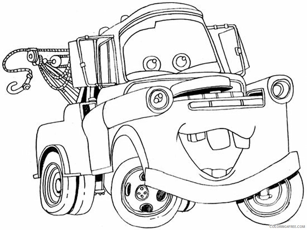 Cars Coloring Pages TV Film cars and cars2 1 Printable 2020 01812 Coloring4free