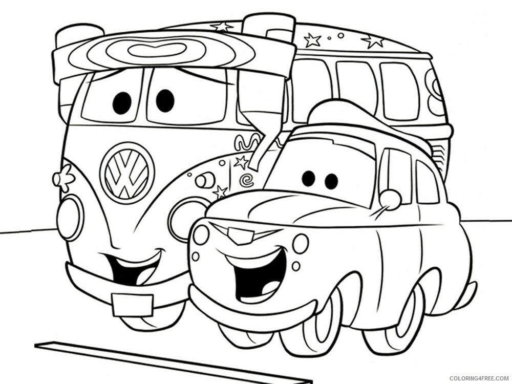 Cars Coloring Pages TV Film cars and cars2 11 Printable 2020 01814 Coloring4free