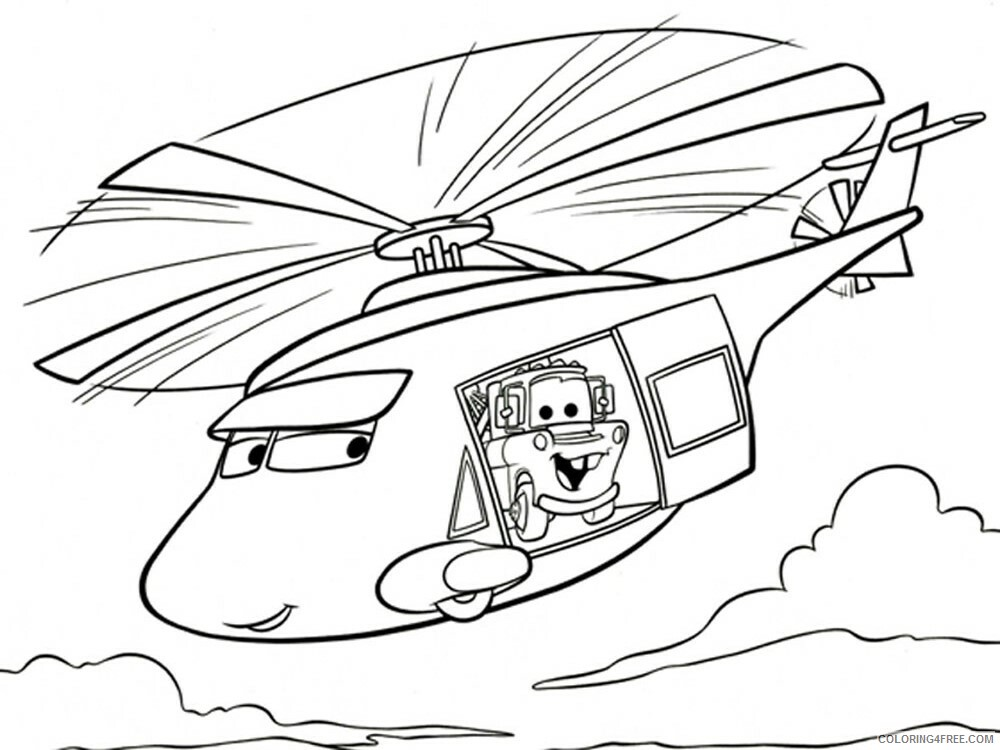 Cars Coloring Pages TV Film cars and cars2 12 Printable 2020 01815 Coloring4free