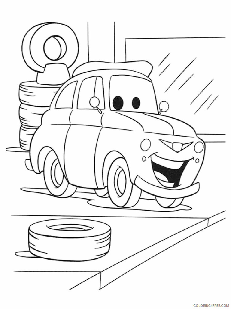 Cars Coloring Pages TV Film cars and cars2 19 Printable 2020 01821 Coloring4free