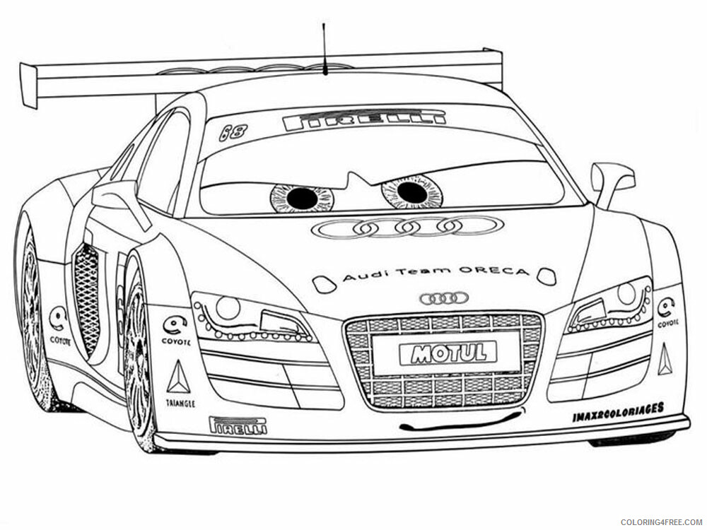Cars Coloring Pages TV Film cars and cars2 2 Printable 2020 01822 Coloring4free