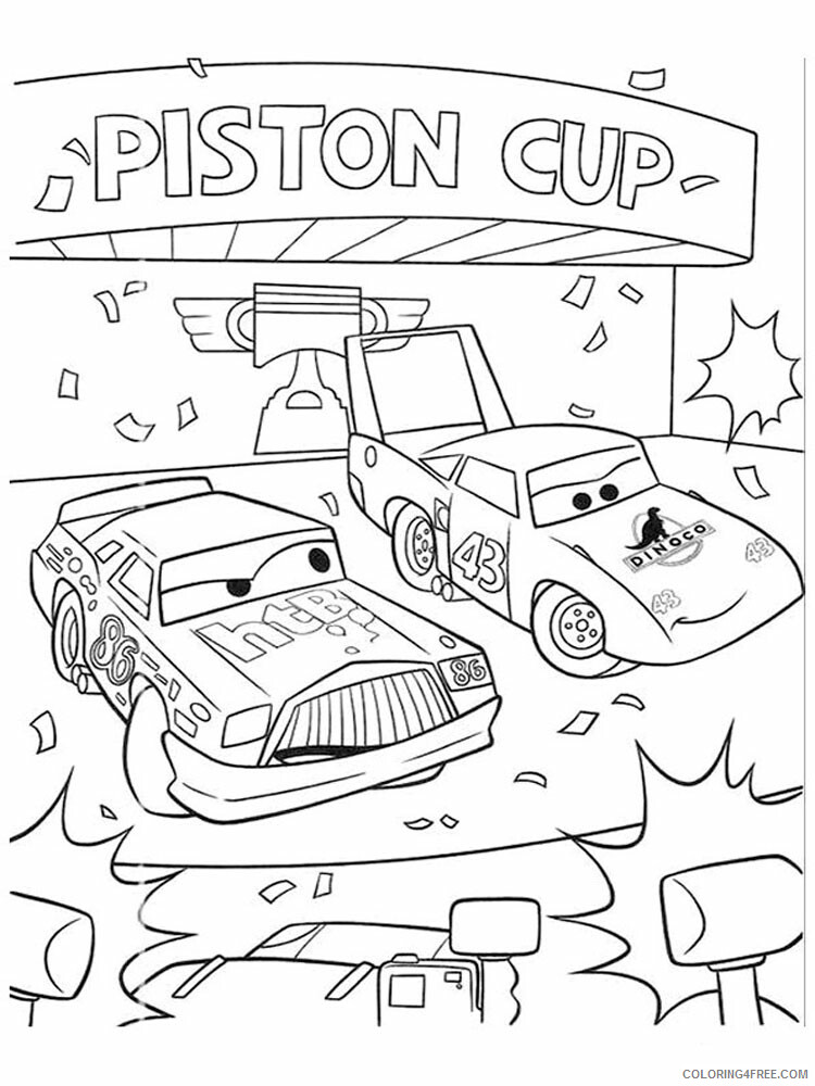 Cars Coloring Pages TV Film cars and cars2 20 Printable 2020 01823 Coloring4free