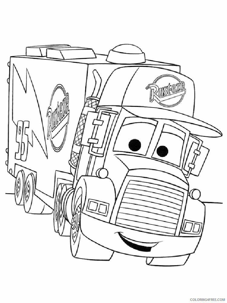 Cars Coloring Pages TV Film cars and cars2 23 Printable 2020 01825 Coloring4free