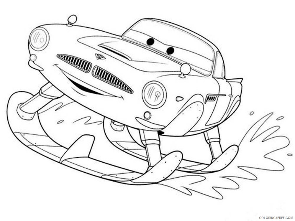 Cars Coloring Pages TV Film cars and cars2 25 Printable 2020 01827 Coloring4free