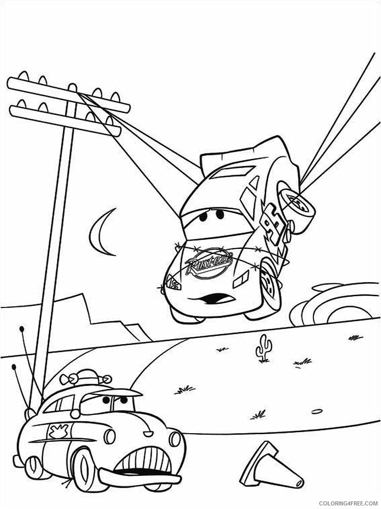 Cars Coloring Pages TV Film cars and cars2 27 Printable 2020 01829 Coloring4free