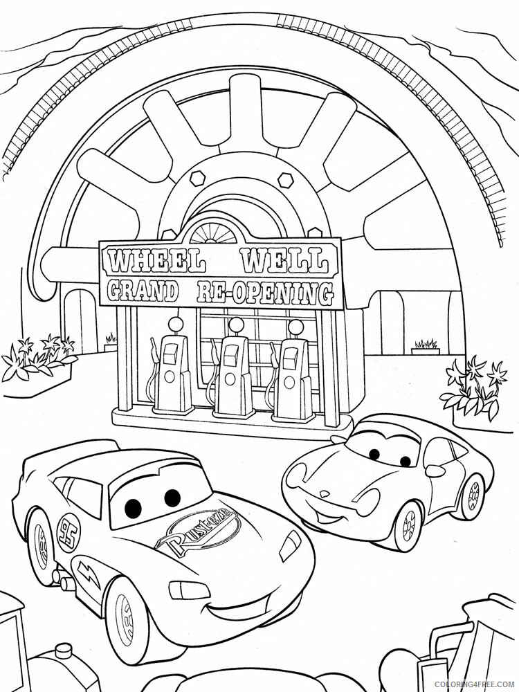 Cars Coloring Pages TV Film cars and cars2 30 Printable 2020 01831 Coloring4free