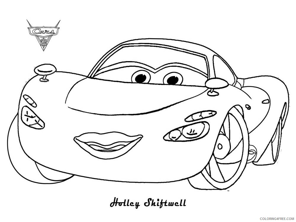 Cars Coloring Pages TV Film cars and cars2 34 Printable 2020 01834 Coloring4free
