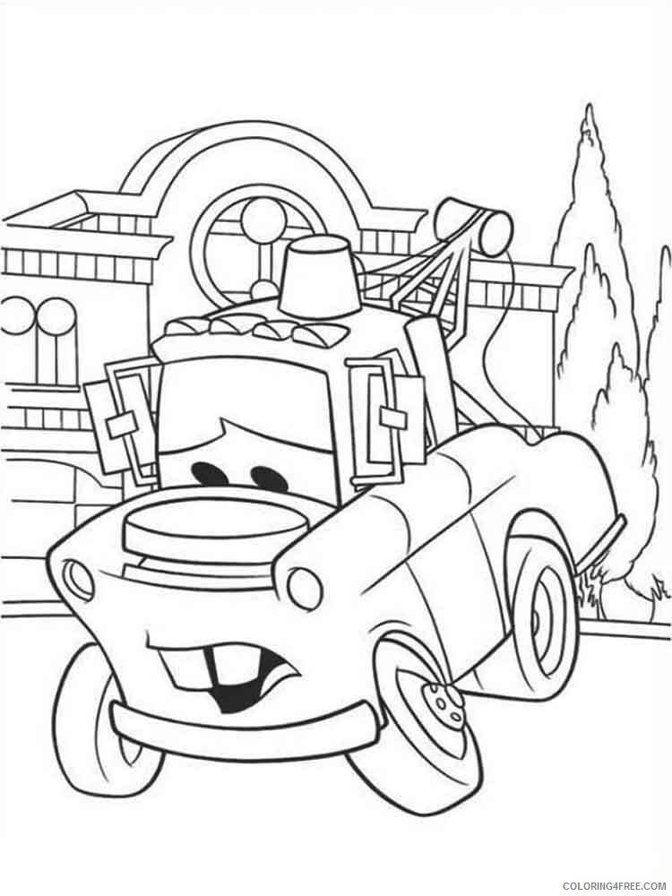 Cars Coloring Pages TV Film cars and cars2 36 Printable 2020 01836 Coloring4free