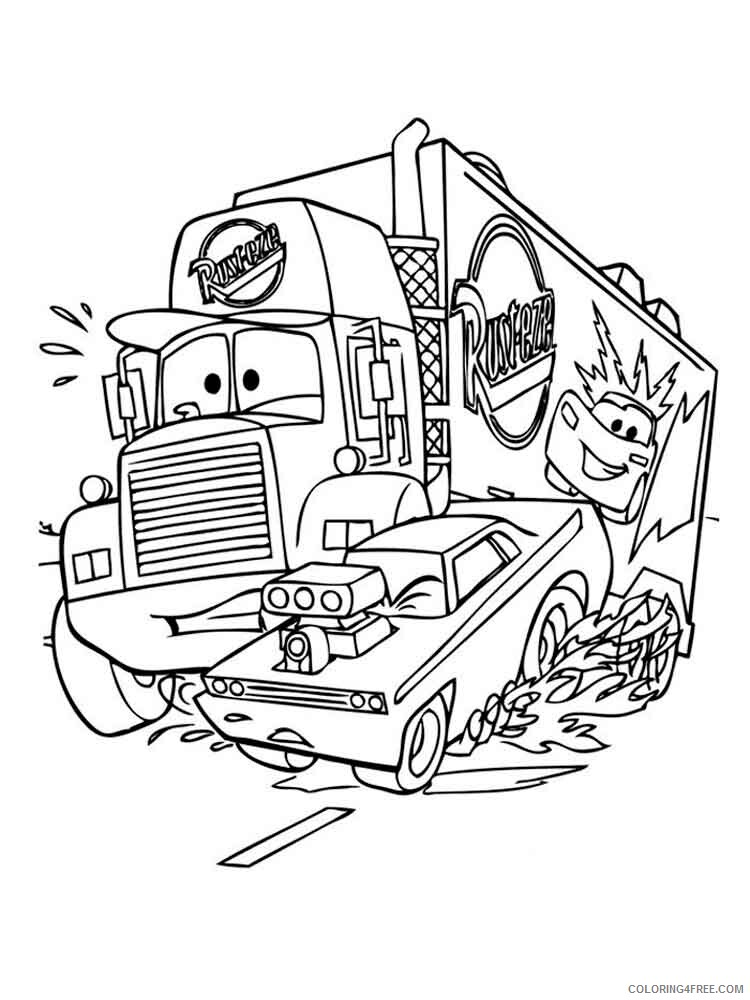 Cars Coloring Pages TV Film cars and cars2 38 Printable 2020 01838 Coloring4free